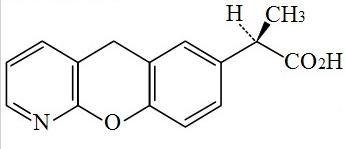 普拉洛芬的结构式