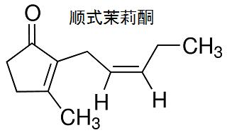 顺式茉莉酮 结构式