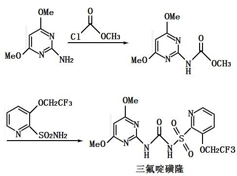 三氟啶磺隆合成路线