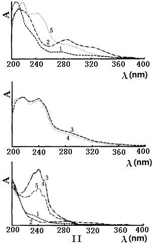 血竭及其伪品的紫外光谱图