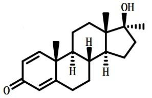 美雄酮结构式
