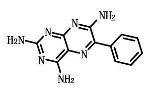 氨苯蝶啶结构式