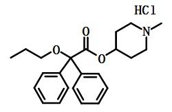 盐酸丙哌维林结构式