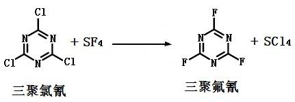 三聚氟氰的合成
