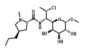 克林霉素结构式