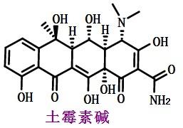 土霉素碱结构式