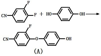 合成中间体( A )的路线图