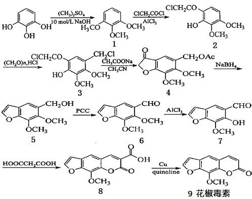花椒毒素的合成路线