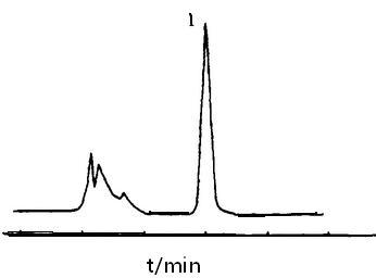 山茱萸注射液的高效液相色谱图