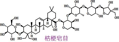 桔梗皂苷D结构式