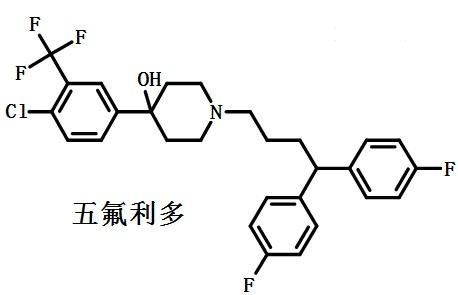 五氟利多的结构式