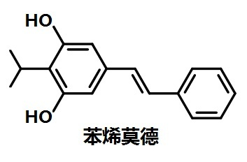 苯烯莫德的结构式