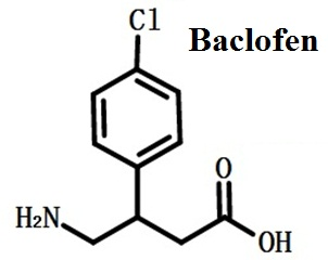 Structure of Baclofen