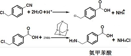 氨甲苯酸的合成路线