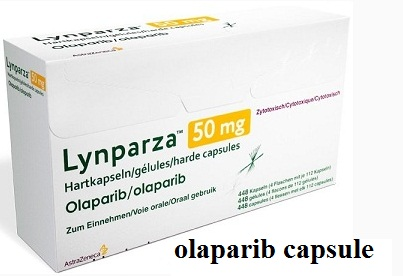 "olaparib capsule of the anticancer drug ""Lynparza"" developed by the AstraZeneca Company of US"