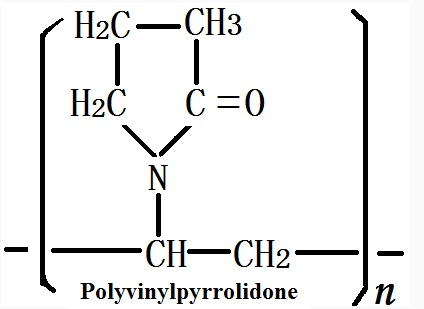 The molecular formula of Polyvinylpyrrolidone
