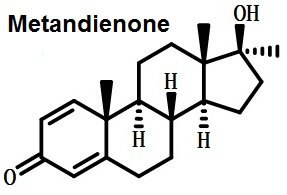 the chemical formula of metandienone