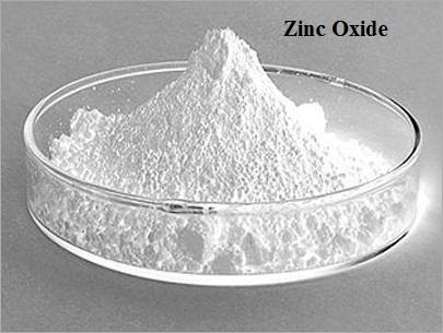 white zinc oxide powder