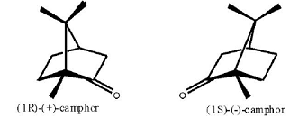 樟脑磺酸的左右旋异构体
