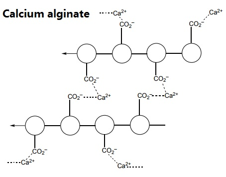 Calcium alginate