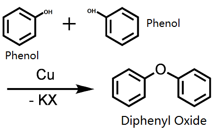 synthesis of diphenyl ether
