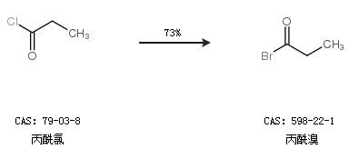 合成丙酰溴反应方程式1