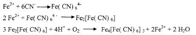 化学沉淀法反应式