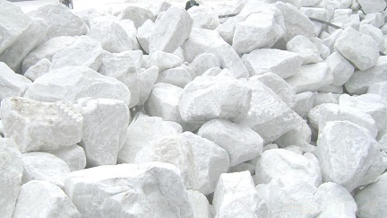 calcium carbonate block