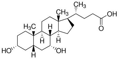 chenodeoxycholic acid structure
