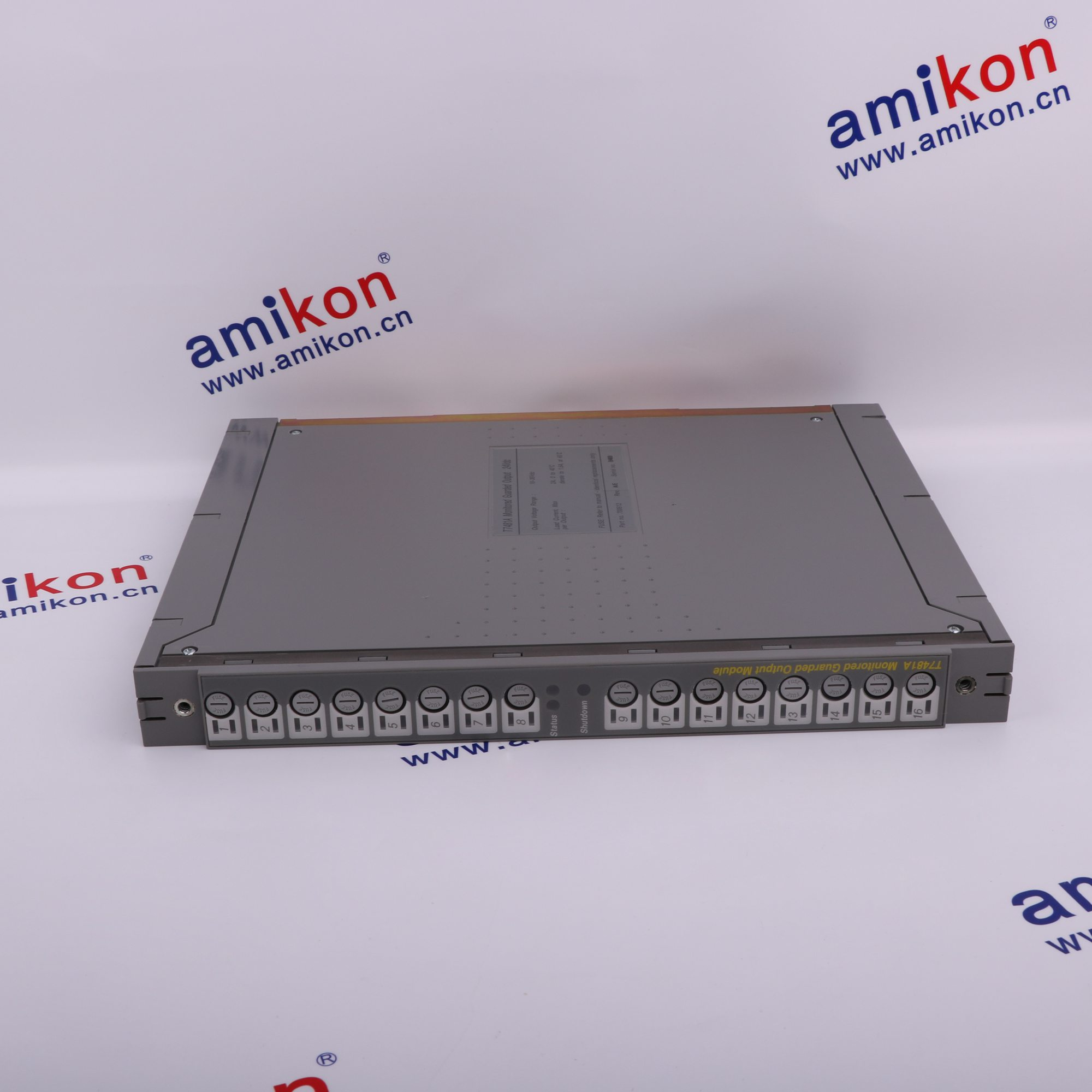 T8451 Trusted TMR 24Vdc Digital Output Module