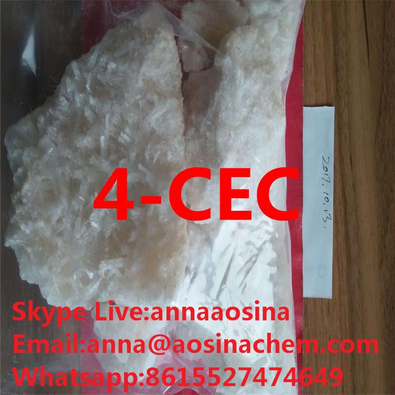 4-CEC 4-CMC 3-CMC substances 4CEC China research chemicals  anna@aosinachem.com