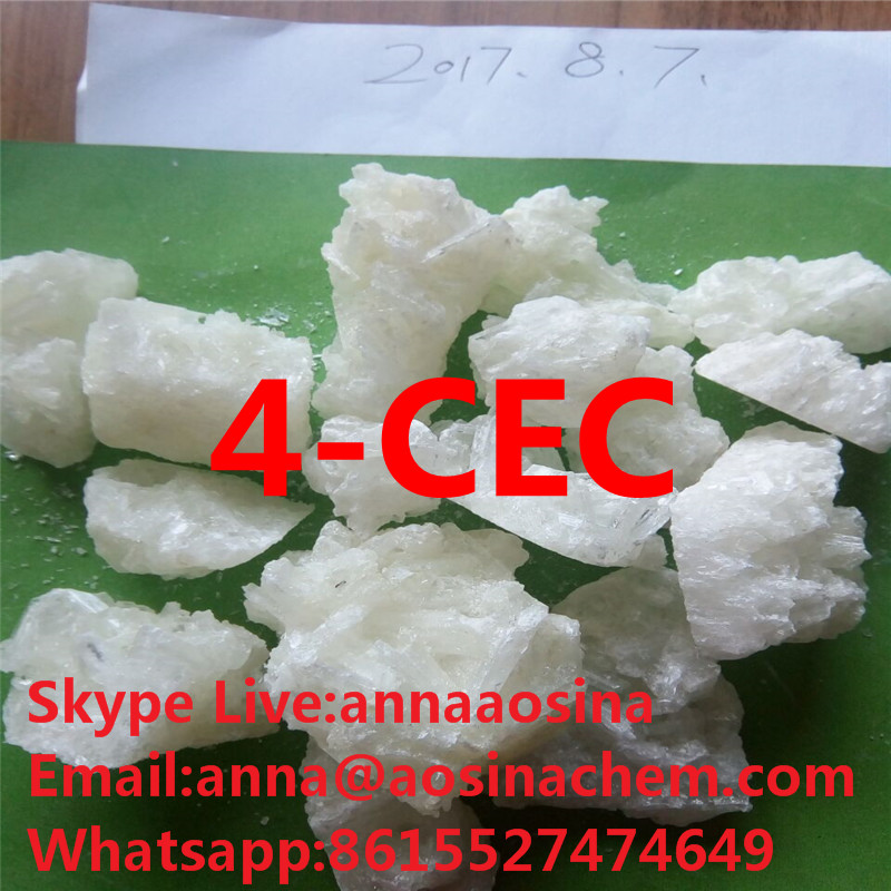 sell 4CEC 4-CEC crystal  CEC China research chemicals  anna@aosinachem.com