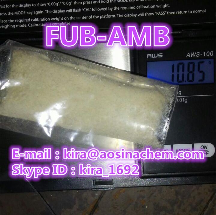 Skype ID:kira_1692 strong fub-amb fub-amb fub amb-fubinaca fub amb for sale,kira@aosinachem.com