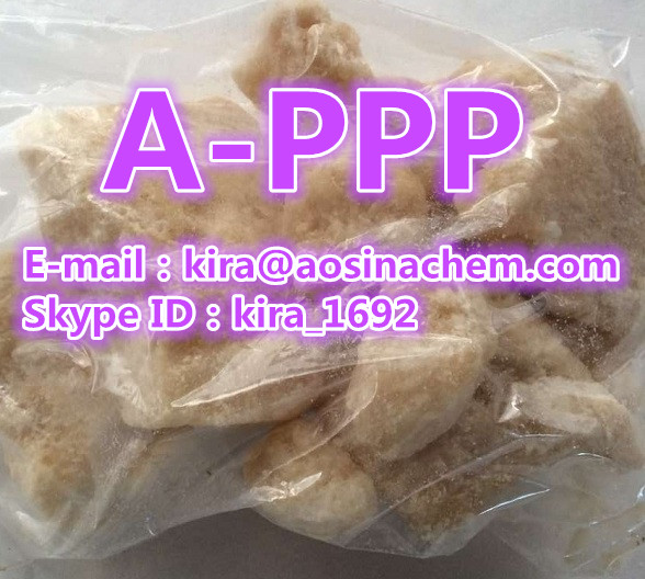 Skype ID:kira_1692 offer APPP Crystal APPP appp Appp a-Pyrrolidinopropiophenone brown crystal rock trustable supplier direct china manufacture vendor factory,kira@aosinachem.com